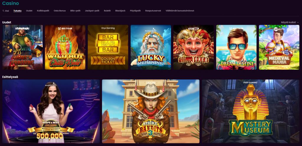 boom casino aula